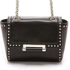 DVF 440 Mini Faceted Stud Handbag